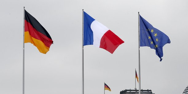 france allemagne union europeenne europe drapeaux flags