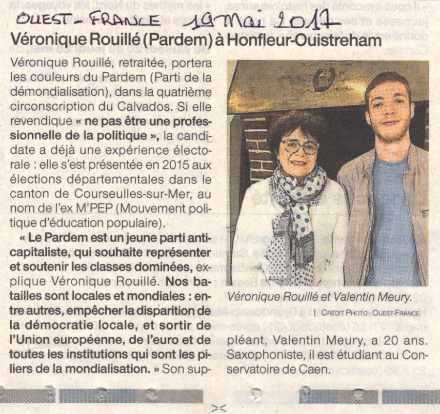 17 05 19 Ouest France